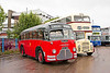 KHA 601 Midland Red 1948 BMMO C1 Coach with Duple Bodywork to a Midland Red design. GRY 48D Leicester City Transport 1966 Leyland Titan PD3A/1 with Metro Cammell Weymann Bodywork